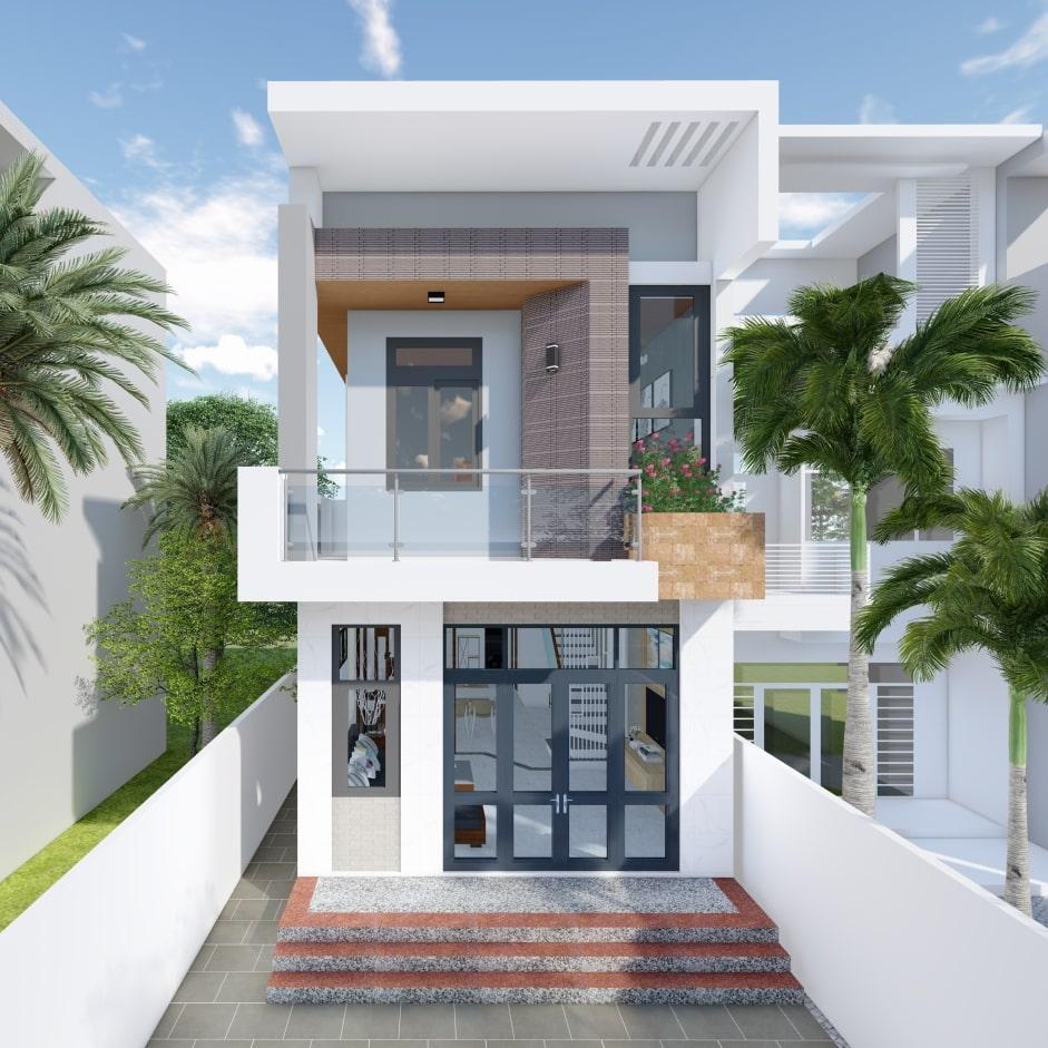 Kiến trúc nhà 2 tầng bao gồm những gì?